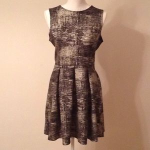 One Clothing Los Angeles Black and Silver Dress